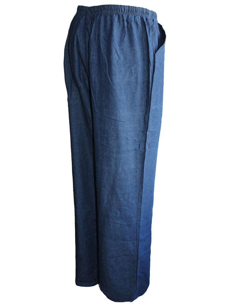 0f57fc1673f Дамски прав панталон с ластик и джобове. -25%. Previous Следващ